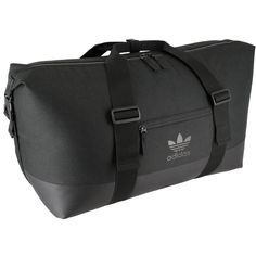 Amazon.com: adidas Unisex Originals Weekender Duffel Bag, Black/Black, One Size: Clothing