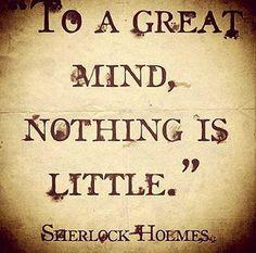 Sherlock Holmes #quote
