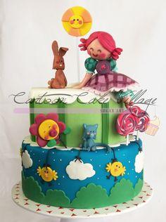 Liludori's+World+-+Character+by+Eloisa+Scichilone.  Cake+by+Eliana+Cardone+from+Cartoon+Cake+Village