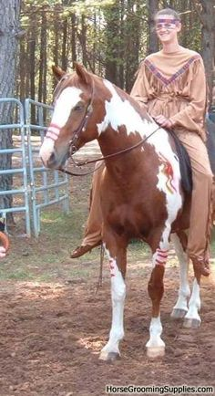 Show us your best horse costume!