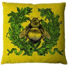 Timorous Beasties Cushions - Empire Bee