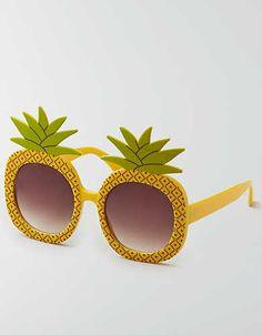 AEO Pineapple Sunglasses , Multi | American Eagle Outfitters