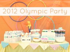 Girly Olympic party details