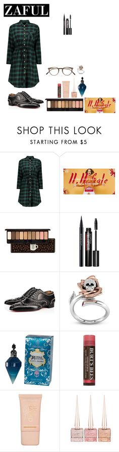 """""""Untitled #365"""" by aliss-15 ❤ liked on Polyvore featuring Etude House, Smashbox, Christian Louboutin, Burt's Bees, Maybelline and Oliver Peoples"""