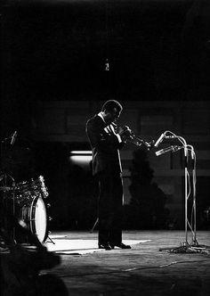 Miles Davis in Rotterdam, 1967. Photo by Pieter Boersma.