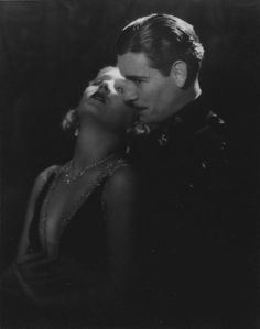 Ronald Colman and Vilma Bánky in the lost silent, The Magic Flame (1927).