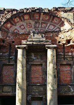 Głogów, ruiny teatru