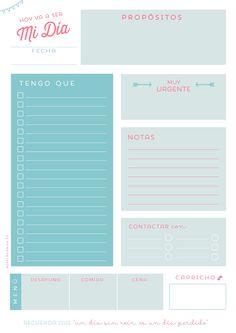 Planificadores Diarios | TheAppleClip