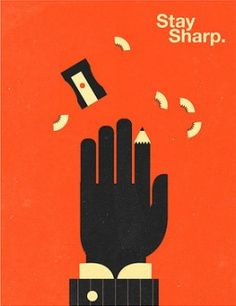 Stay Sharp | Olly Moss