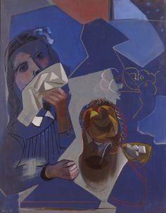 Le Petit Dejeuner 1938 By Francisco Bores Spanish 1898 1972 Spanish