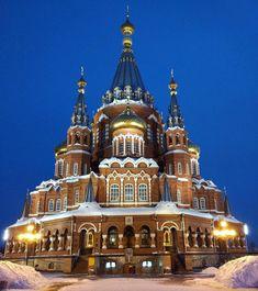 St. Michael's Cathedral, Izhevsk, Udmurt Republic, Russia.