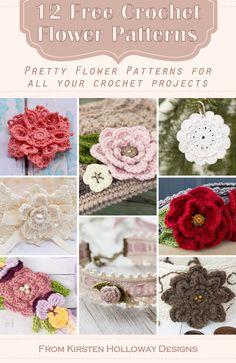 Crochet Shoes Pattern, Crochet Flower Patterns, Crochet Flowers, Knitting Patterns, Crochet Ideas, One Skein Crochet, Irish Crochet, Free Crochet, Crochet Stitches