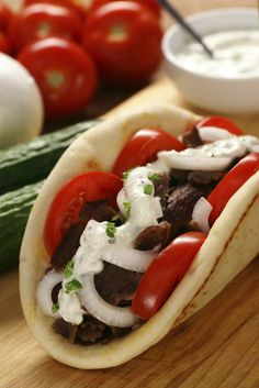 Slow Cooker Greek Gyro from Everyday Good Thinking | @Hamilton Beach