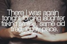 lonely guy quotes | Laughter Picture Quotes, Famous Quotes and Sayings about Laughter with ...
