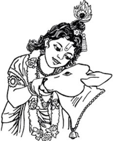 Collection of Krishna With Cow Clipart Cow Coloring Pages, Princess Coloring Pages, Online Coloring Pages, Printable Coloring Pages, Free Coloring, Coloring Books, Cow Clipart, Happy Janmashtami