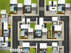 rpg maker modern buildings map pixel ace vx games game houses2