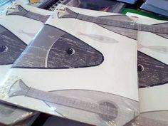 Original Lisboa em Lisboa, Lisboa - notebooks with sardine-guitars, by LX2046