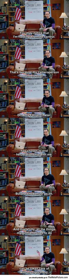 Fun With Flags. Big Bang Theory.