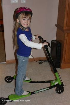 Y Fliker 3 Wheeled Scooter ~ Kid Powered Fun ~ Top Picks For