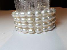 Armbänder - Zuchtperlen Armband weiß - ein Designerstück…