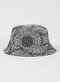 68533d91880c Geometric Tile Bucket Hat - Hats & Snapbacks - Shoes and Accessories