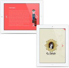 La Chulada - Web Design on Behance  Diseño web para la pulquería La Chulada del Centro con sede en el Centro Histórico de la Ciudad de México  Graphic Design, Illustration, Web Design