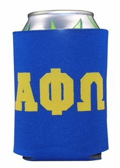 Alpha Phi Omega Pocket Can Coozie SALE $1.95. - for my little