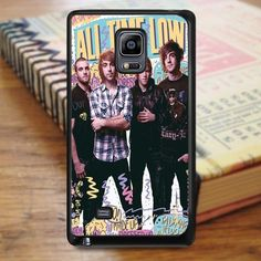 All Time Low Band Music Cover Album Samsung Galaxy Note Edge Case