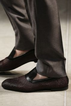 #Bottega Veneta Milano Moda Uomo Spring Summer 2014 - shoes detail