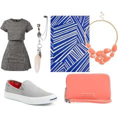Unbenannt #126 by entcheeen on Polyvore featuring polyvore fashion style Fashion Union Converse Vera Bradley BP. Topshop