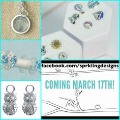 Just a sneak peak at what is coming March 17th tonOrigami Owl. So many beautiful new additions even including earrings !!! #loveit