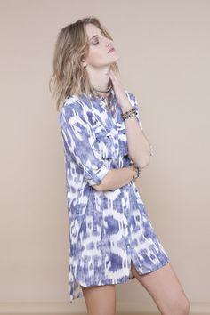 INDIGO GIRL · Shirt | Summer | Fashion | batik