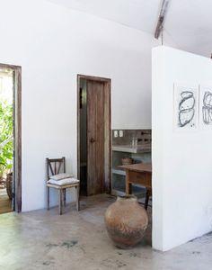 Aujourd'hui, on s'évade sur la côte brésilienne dans une maison :ambiance exotique et décoration ethnique. Un joli paradis dont on rêve toutes !  Plu