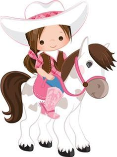 Image result for Little Cowgirl Cartoon