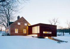 modern addition interior house