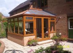The extra room that a conservatory provides is one of the single biggest benefits too. If you cannot afford to buy a new property, then perhaps a conservatory is a feasible second option. Conservatory Design, Dream Mansion, Patio Interior, Room Additions, New Property, Dream Rooms, Traditional Design, Gazebo, Pergola
