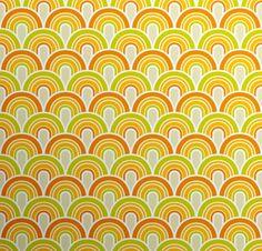 Fifties Wallpaper Pattern