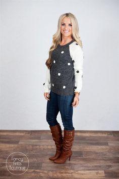 Polka Dot Sweater! | Jane