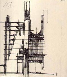 Antonio Sant'Elia ° city planning