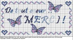 Merci - thank you - point de croix - cross stitch - Blog : http://broderiemimie44.canalblog.com/