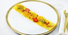Carpaccio van exotisch fruit