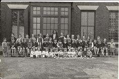 Taken at the Bankfield School, Ainsworth in 1945. The school was run by Mrs. Marie Hebberton-Sheldon and she looked after the children of service personnel. It was previously at The Crest, Fletcher Fold, Bury. The school moved (1945) to Parkfield a big hose on the corner of Philips Park Road and Higher Lane Whitefield. Now gone!