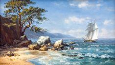 морские пейзажи картины - Поиск в Google