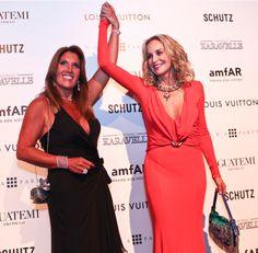 Confira os vestidos de festa das famosas em noite de gala na AmfAr