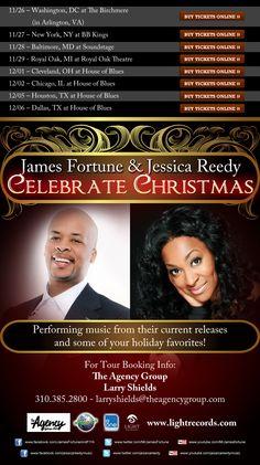 "James Fortune & Jessica Reedy ""Celebrate Christmas"" Tour"