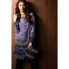 Digitally Printed Top Inspired By Islamic Tiles