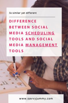 Difference between social media scheduling tools and social media management tools Social Media Scheduling Tools, Social Media Management Tools, Business Pages, Save Yourself, Schedule, Skincare, Tutorials, Learning, Timeline