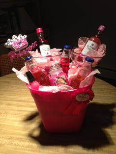 21st Birthday Present how cute! someone make this for me :)
