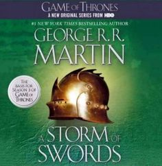 A Storm of Swords is the 3rd volume in George R. R. Martin's magnificent Song of Fire & Ice series. As a whole, this series comprises a genuine masterpiece of modern fantasy, bringing together the best the genre has to offer. Magic, mystery, intrigue, romance, and adventure fill these pages and transport us to a world unlike any we have ever experienced. Already hailed as a classic, George R. R. Martin's stunning series is destined to stand as one of the great achievements of fantasy…