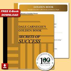 Free Download for Dale Carnegie's Golden Book Secrets of Success! | LinkedIn